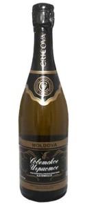 Советское Шампанское полусладкое «Cricova»