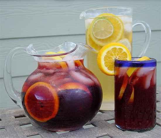 Коктейль Сангрия – винный напиток