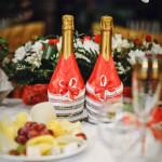 Как украсить бутылку шампанского – идеи и способы оформления игристого вина