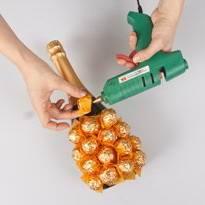 Делаем ананс из конфет-2