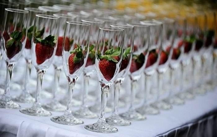Чем закусывать игристое вино