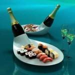 Чем закусывают шампанское – что подать к полусладкому, а что к Брют