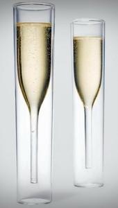 Бокалы для шампанского креативной формы