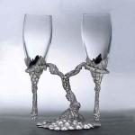 Бокалы под шампанское – хрустальные и стеклянные фужеры для игристого вина