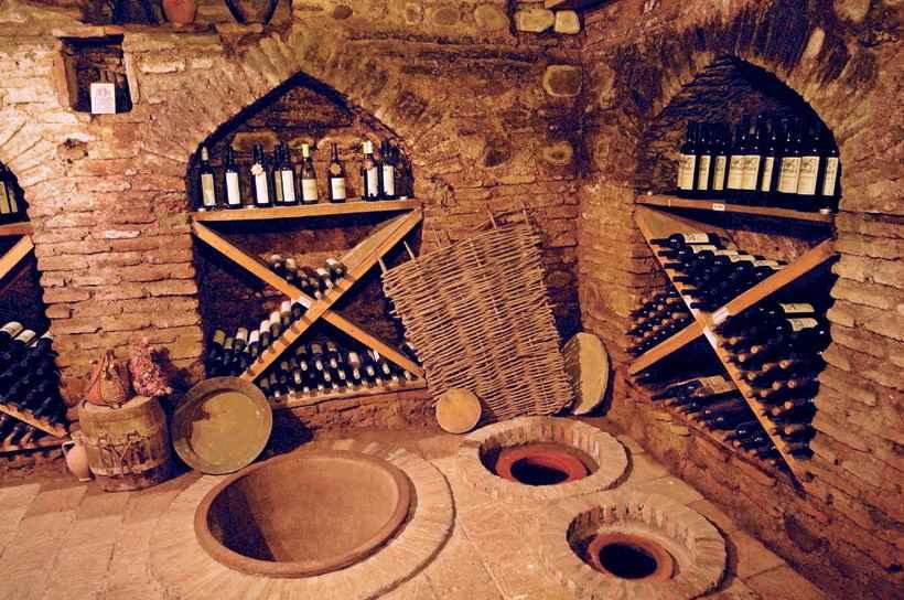История грузинского виноделия