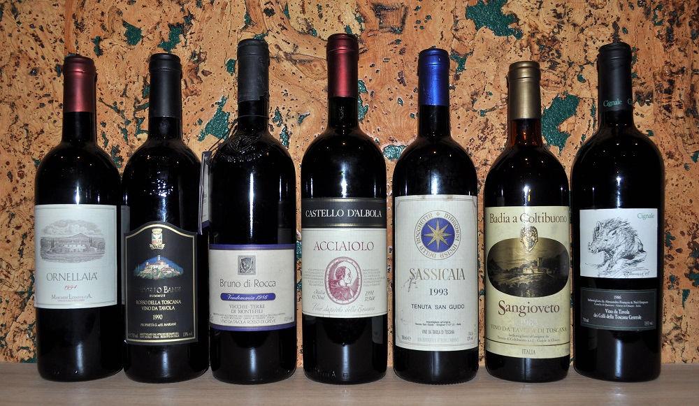 Супертосканские вина