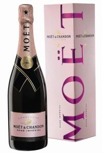Шампанское «Moet Chandon Rose Imperial» розовое сухое