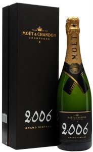 """Шампанское Moet & Chandon, """"Grand Vintage"""" 2006 сухое белое и розовое"""