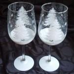 Как украсить бокалы на Новый год – оригинальные идеи с фото